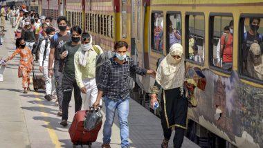 COVID-19: लंबी दूरी की ट्रेनों के लिए महाराष्ट्र सरकार ने जारी की नई गाइडलाइंस, 5 राज्यों के यात्रियों के लिए RT-PCR निगेटिव टेस्ट किया अनिवार्य
