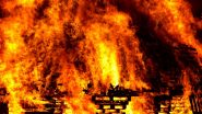 दिल्ली के ग्रेटर कैलाश में एक प्राइवेट पैथोलॉजी लैब में लगी आग, अग्निशमन कार्य जारी