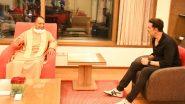 UP CM Yogi Adityanath Meets Akshay Kumar: मुख्यमंत्री योगी आदित्यनाथ ने अक्षय कुमार से की मुलाकात, फिल्म सिटी प्रोजेक्ट को लेकर की चर्चा (See Photo)