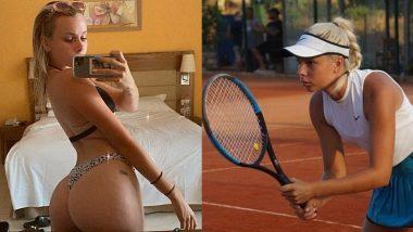 XXX Nude Photos बेचकर टेनिस स्टार Angelina Graovac पोर्न साइट Onlyfans से कमा रही हैं पैसे, हॉटनेस से पोर्नस्टार्स को दे रही हैं टक्कर