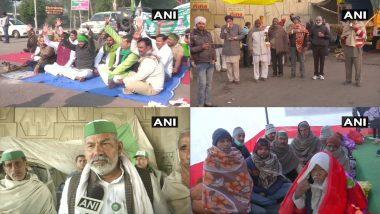Farmers Protest: कड़ाके की ठंड के बावजूद आंदोलनकारी किसान प्रदर्शन स्थल पर हैं जमे, न्यूनतम तापमान 3.4 डिग्री सेल्सियस दर्ज