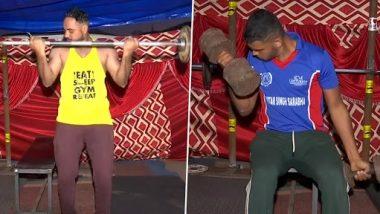 Farmers Protest: सिंघू बॉर्डर पर प्रदर्शन के साथ कसरत भी कर रहे किसान, देखें अस्थायी Gym की तस्वीरें