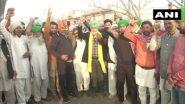 Farmers Protest: किसान आंदोलन लगातार 10वें दिन जारी, सरकार से पांचवें दौर की वार्ता आज