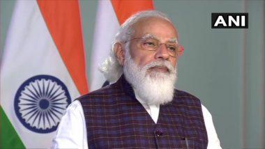 प्रधानमंत्री नरेंद्र मोदी ने महिलाओं के सशक्तिकरण पर दिया जोर