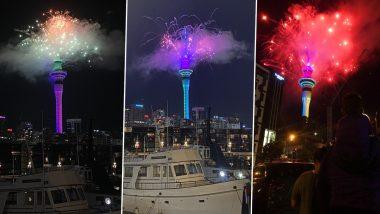Happy New Year 2021 Photos & Videos: न्यूजीलैंड में ग्रैंड आतिशबाजी के साथ हुआ नए साल का स्वागत, देखें सेलिब्रेशन का ये शानदार Video