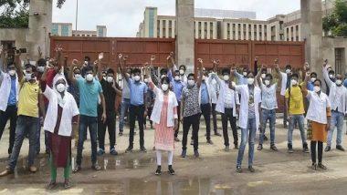 AIIMS Nurses' Strike: कोरोना संकट के बीच दिल्ली हाईकोर्ट का बड़ा फैसला, एम्स की नर्सों के हड़ताल पर रोक लगाते हुए काम पर लौटने का दिया निर्देश