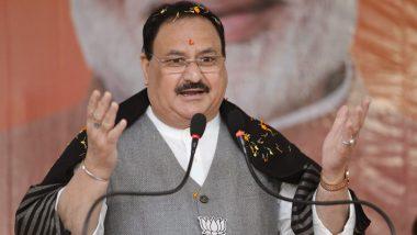West Bengal: नड्डा पहुंचे बंगाल, 'एक मुट्ठी चावल संग्रह' अभियान की करेंगे शुरुआत