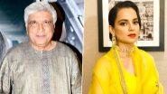 Kangana Ranaut ने Javed Akhtar के खिलाफ किया काउंटर केस, कोर्ट के सामने हुई पेश