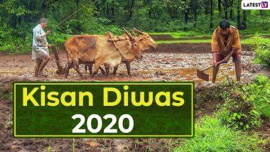 Kisan Diwas 2020 Greetings: किसान दिवस पर ये Wishes, WhatsApp Messages, HD Images, Quotes, SMS, भेजकर दें शुभकामनाएं