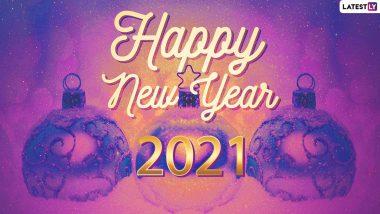 Happy New Year 2021 Wishes: नए साल की पूर्व संध्या पर अपने परिजनों और दोस्तों को इन WhatsApp Message-Quotes के जरिये दें शुभकामनाएं