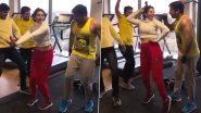 भोजपुरी सुपरस्टार Pawan Singh ने जिम में साउथ की इस एक्ट्रेस के साथ लगाया ठुमका, 'लगावेलू जब लिपस्टिक' पर धमाकेदार डांस Video हुआ Viral