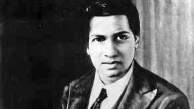 National Mathematics Day 2020: Know who is Srinivasa Ramanujan, how he played an important role in the development of formulas and theorems