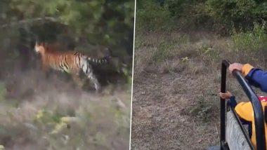 Angry Tiger Viral Video: जंगल सफारी के दौरान पर्यटकों के पास आकर गुस्से में दहाड़ने लगा बाघ, फिर जो हुआ… देखें हैरान करने वाला वीडियो