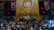 COVID19 पर संयुक्त राष्ट्र महासभा विशेष सत्र की करेगी मेजबानी, एजेंसियों और प्रमुख वैज्ञानिकों के साथ होंगे संवाद