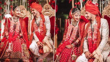 Yuzvendra Chahal ने मंगेतर Dhanashree संग रचाई शादी, सोशल मीडिया पर शेयर की तस्वीर