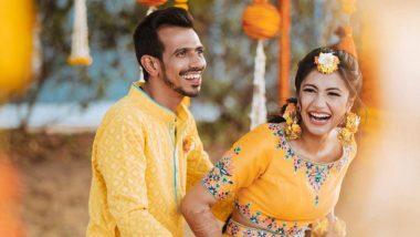 Yuzvendra Chahal और Dhanashree Verma ने अपना Wedding Video किया शेयर, जमकर नाचते दिखे शिखर धवन