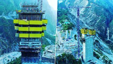 Jammu-Kashmir: कटरा और रियासी के बीच बन रहा है देश का पहला आर्च रेल ब्रिज, निर्माण कार्य जोरों पर