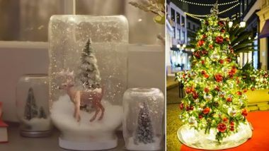Christmas 2020 Decoration Hacks: From Xmas Tree Light to North-pole Inspired Decoration, Watch Easy Ways to Decorate for Christmas (Watch Videos)