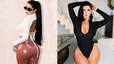 Demi Rose Hot Photos: इंटरनेशनल मॉडल डेमी रोज ने अपने कर्वी फिगर से लोगों को किया हैरान, फोटोज उड़ा रहें हैं होश