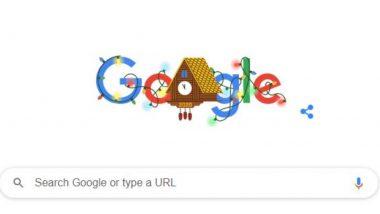 New Year's Eve 2020 Google Doodle: नए साल की पूर्व संध्या 2020 का जश्न मना रहा है गूगल, बनाया ये खास डूडल
