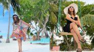Hina Khan Hot Photos: मालदीव में वेकेशन मनाने पहुंची हिना खान ने शेयर की बेहद ही ग्लैरमस तस्वीरें, देखकर उड़ जाएंगे होश