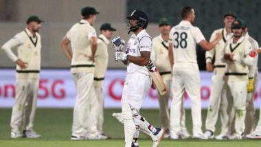 Ind vs Aus 1st Test 2020-21: दुसरे दिन का खेल हुआ समाप्त, दूसरी पारी में टीम इंडिया को 62 रनों की बढ़त
