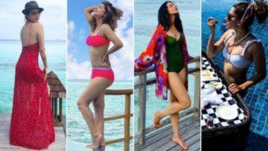 Yearender 2020: तापसी पन्नू से लेकर हिना खान तक मालदीव में वेकेशन मनाने पहुंची ये एक्ट्रेस, देखें उनकी सिजलिंग और Hot Photos