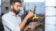 आंध्र प्रदेश: इलेक्ट्रिकल इंजीनियरिंग के छात्र Madhu Vajrakarur ने बनाया खास Wind Turbine, जो बिजली और स्वच्छ जल को कर सकता है उत्पन्न