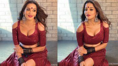 Monalisa Hot Photos: भोजपुरी एक्ट्रेस मोनालिसा ने हॉट ड्रेस पहन दिखाया अपना बोल्ड अवतार, तस्वीरें देख बन जाएंगे फैन
