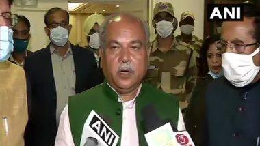 Farmers Protest: कृषि मंत्री नरेंद्र सिंह तोमर ने किसानों के नाम लिखी 8 पन्नों की चिठ्ठी, कहा-बिल को लेकर पैदा की गई गलतफहमी
