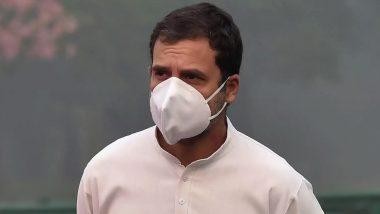 राहुल ने सभी नागरिकों के लिए कोरोना के टीके की पैरवी की
