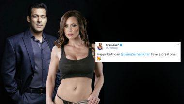 XXX पोर्नस्टार Kendra Lust ने Salman Khan संग शेयर की हॉट फोटो, बर्थडे पर बेहद बोल्ड अंदाज में दी बधाई