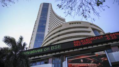 Sensex Today: सपाट खुलने के बाद टूटा शेयर बाजार, 200 अंक फिसला सेंसेक्स