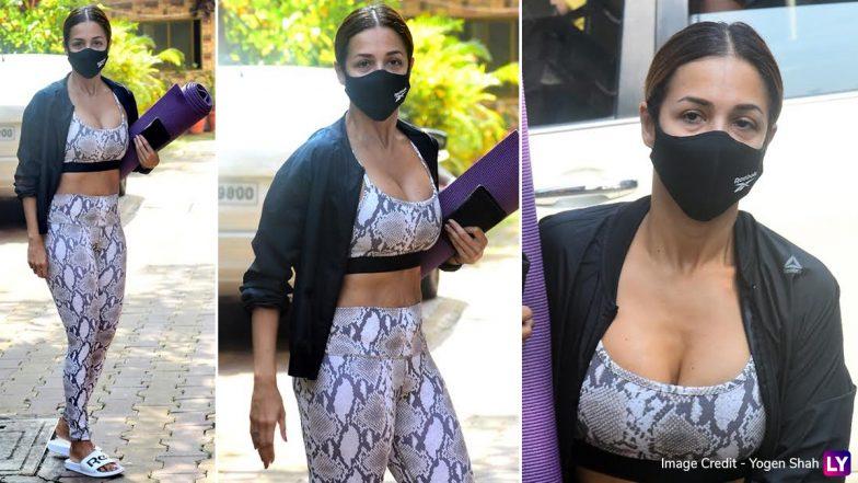 Malaika Arora Hot Photos: मलाइका अरोड़ा का हॉट जिम लुक कर देगा आपको घायल, सेक्सी अंदाज से जीता दिल (See Pics)
