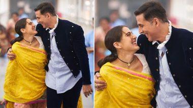 Atrangi Re: सारा अली खान ने अक्षय कुमार के साथ इस अंदाज में फोटो की शेयर, कहा- हो गया है रंगीन