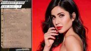 Katrina Kaif ने शेयर किया अपना वर्कआउट रूटीन, पढ़ें डिटेल्स