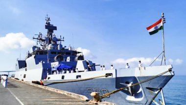 भारतीय नौसेना की बढ़ेगी ताकत, युद्धपोतों पर तैनात होगा 127 mm Medium Caliber Guns
