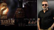 Sanjay Dutt ने बर्थडे पर फैंस को दिया खास तोहफा, फिल्म KGF Chapter 2 से नया लुक लाया सामने