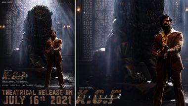 KGF Chapter 2 Release Date: यश स्टारर फिल्म 'केजीएफ चैप्टर 2' की रिलीज डेट और दमदार पोस्टर आया सामने