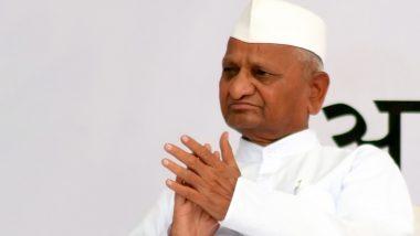 Anna Hazare Support Farmers: किसानों के समर्थन में उतरे अन्ना हजारे, 30 जनवरी से अनशन का किया ऐलान