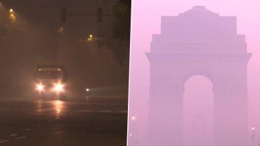 Weather Update: दिल्ली ने सुबह-सुबह ओढ़ ली घने कोहरे की चादर