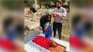 ऑस्ट्रेलिया से वापस लौटे मोहम्मद सिराज एयरपोर्ट से सीधे पिता की कब्र पर पहुंचे, नम आखों से दी श्रद्धांजलि (See Pic)