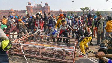 Farmers Tractor Rally: राजनीतिक दलों ने की हिंसा की निंदा