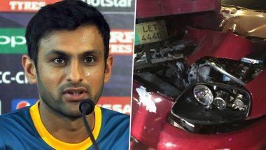 Shoaib Malik Safe! पाकिस्तानी क्रिकेटर शोएब मलिक का हुआ एक्सीडेंट, कार ट्रक से टकराई