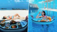 Sara Ali Khan: मालदीव में स्विमसूट में ब्रेकफास्ट करती नजर आईं सारा