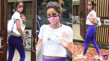 Ananya Panday Hot Photo: हॉटनेस का तड़का लगाकर सुर्खियों में आईं अनन्या पांडे, जिम के बाहर इस अंदाज में हुईं स्पॉट