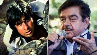 Sholay में अमिताभ बच्चन नहीं बल्कि शत्रुघन सिन्हा निभाने वाले थे जय का किरदार, आज तक है इस बात का पछतावा