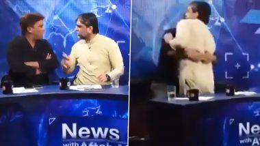 PAK: टीवी डिबेट शो में पाकिस्तानी गेस्ट आपस में भिड़े, एक दूसरे को जमकर पीटा- वायरल हुआ VIDEO