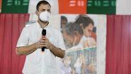 राहुल गांधी ने कहा  आरएसएस  वाले तमिलनाडु का भविष्य तय नहीं  कर सकते