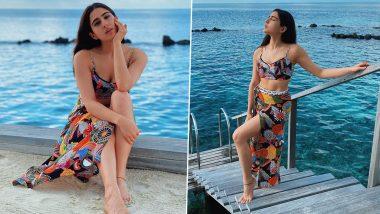 Sara Ali Khan Hot Photos: मालदीव में समंदर के किनारे सारा अली खान ने दिखाया अपना जलवा, दिलकश तस्वीरें की शेयर